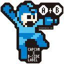 CAPCOM×B-SIDE LABELステッカー ロックマン ドット[B-SIDE LABEL]《09月予約》
