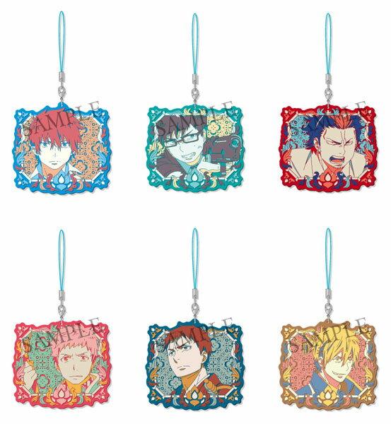 青の祓魔師 京都不浄王篇 ダイカットラバーストラップ 6個入りBOX[ソル・インターナショナル]《09月予約》