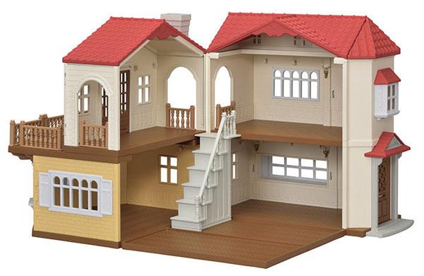 シルバニアファミリー ハ-48 赤い屋根の大きなお家