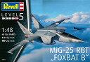 1/48 ミグ MiG-25 RBT プラモデル[ドイツレベル]《取り寄せ※暫定》