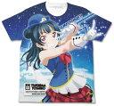ラブライブ!サンシャイン!! 津島善子フルグラフィックTシャツ HAPPY PARTY TRAIN Ver./WHITE-XL[コスパ]《10月予約》