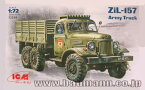 1/72 ソビエト ジル ZIL-157 カーゴトラック プラモデル(再販)[ICM]《取り寄せ※暫定》