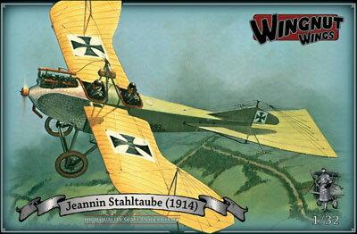 1/32 ジャニン スタールタウベ 1914年 プラモデル[ウィングナット・ウィングス]《取り寄せ※暫定》