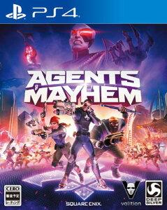 【特典】PS4 エージェンツ オブ メイヘム[スクウェア・エニックス]《12月予約》