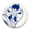 ドラゴンボールZ 陶磁器絵皿(セラミックプレート) (2)ベジータ[エンスカイ]《12月予約》