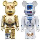 ベアブリック スター・ウォーズ C-3PO & R2-D2 2PACK[メディコム・トイ]《発売済・在庫品》