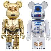 ベアブリック スター・ウォーズ C-3PO & R2-D2 2PACK[メディコム・トイ]《11月予約》