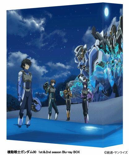 BD 機動戦士ガンダム00 1st&2nd season Blu-ray BOX 期間限定生産版[バンダイビジュアル]《取り寄せ※暫定》