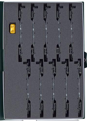 10-1432 コキ106+107 コンテナ無積載 10両セット[KATO]《発売済・在庫品》