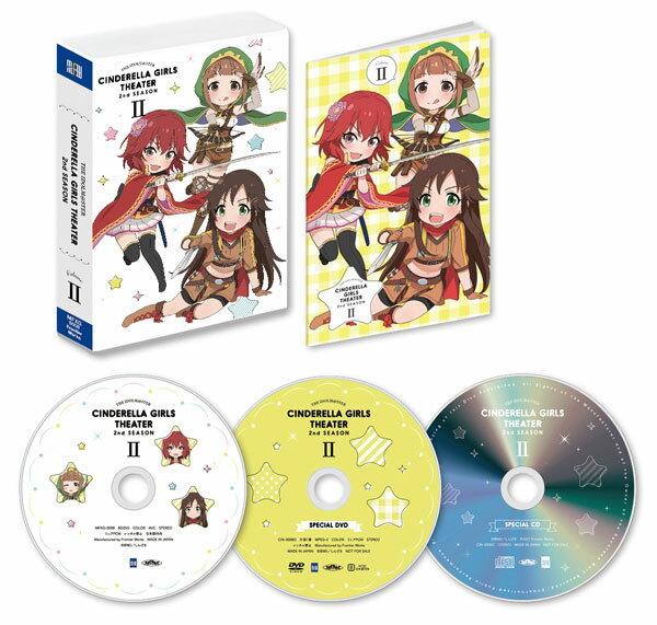 DVD アイドルマスター シンデレラガールズ劇場 2nd SEASON 第2巻[フロンティアワークス]《12月予約※暫定》