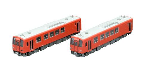 98051 JR キハ120 200形ディーゼルカー(木次線・首都圏色)セット(2両)[TOMIX]《取り寄せ※暫定》
