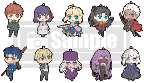 劇場版「Fate/stay night [Heaven's Feel]」 トレーディングラバーストラップ 10個入りBOX[KADOKAWA]《取り寄せ※暫定》