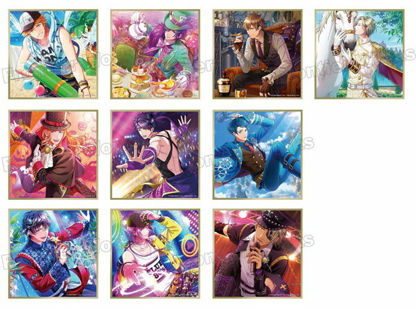 ボーイフレンド(仮)きらめき☆ノート ミニ色紙コレクション 第5弾 10個入りBOX[フロンティアワークス]《発売済・在庫品》