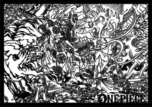 【限定販売】伽羅切絵 ワンピース vol.1[ヒキダシ]《06月予約》
