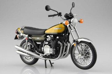 1/12 完成品バイク KAWASAKI 900Super4(Z1) イエローボール[スカイネット]《発売済・在庫品》