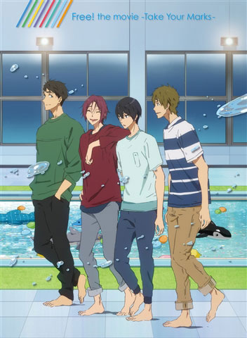 BD 特別版 Free!-Take Your Marks- 台本付数量限定版 (Blu-ray Disc)[京都アニメーション]《取り寄せ※暫定》