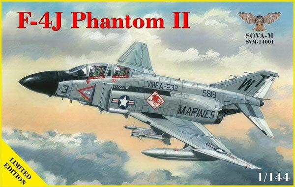 プラモデル・模型, 飛行機・ヘリコプター 1144 F-4J II SOVA-M