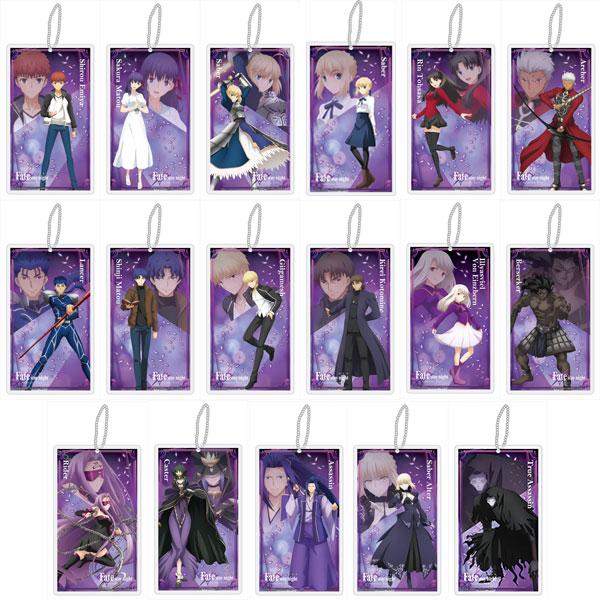 劇場版「Fate/stay night[Heaven's Feel]」 クリアストラップ 17個入りBOX[コンテンツシード]《発売済・在庫品》