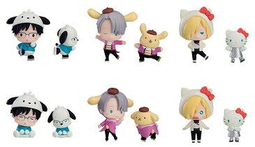 ユーリ!!! on ICE × Sanrio characters トレーディングフィギュア 6個入りBOX[オランジュ・ルージュ]《10月予約》
