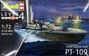 1/72 PTボート PT-109魚雷艇 プラモデル[ドイツレベル]《取り寄せ※暫定》