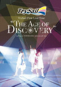 """BD TrySail / TrySail First Live Tour""""The Age of Discovery"""" 通常盤 (Blu-ray Disc)[SME]《取り寄せ※暫定》"""