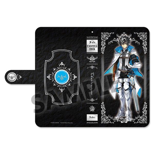 Fate/EXTELLA LINK 手帳型スマートフォンケース シャルルマーニュ[ホビーストック]《取り寄せ※暫定》