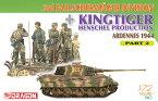 1/72 WW.IIドイツ軍 第3降下猟兵師団 w/キングタイガー(ヘンシェル砲塔) Part.2 プラモデル[ドラゴンモデル]《取り寄せ※暫定》