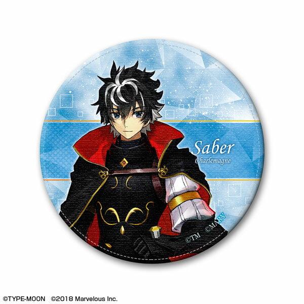 Fate/EXTELLA LINK レザーバッジ デザイン01(シャルルマーニュ)[ライセンスエージェント]《発売済・在庫品》