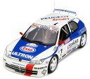 1/18 プジョー 306 マキシ (Mk.1) Tour de Corse(ホワイト/ブルー/レッド)[OttO mobile]《08月仮予約》