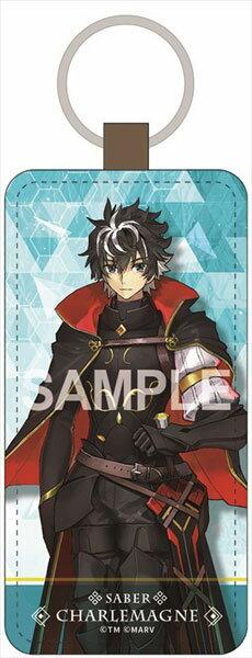 Fate/EXTELLA LINK レザーキーホルダー シャルルマーニュ[ゼクストワークス]《発売済・在庫品》
