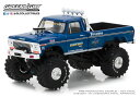 1/43 Bigfoot #1 The Original Monster Truck (1979) - 1974 Ford F-250 Monster Truck[グリーンライト]《発売済・在庫品》