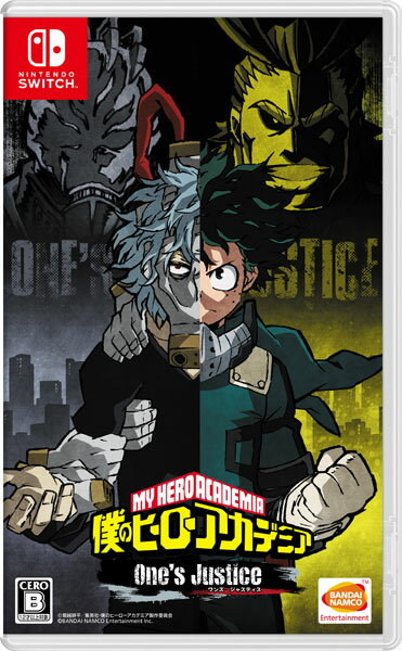 Nintendo Switch 僕のヒーローアカデミア One's Justice(再販)[バンダイナムコ]【送料無料】《発売済・在庫品》