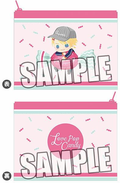 うたの☆プリンスさまっ♪ マルチポーチ Love Pop Candy ちびキャラVer.「来栖翔」[ブロッコリー]《11月予約》