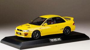1/18 スバル インプレッサWRX type R STi Ver.1997(GC8) チェイスイエロー[ホビージャパン]【送料無料】《06月予約※暫定》