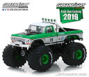 1/64 1974 Ford F-250 Monster Truck - #19 GreenLight Racing Team - 2019 GreenLight Trade Show Exclusive[グリーンライト]《取り寄せ※暫定》