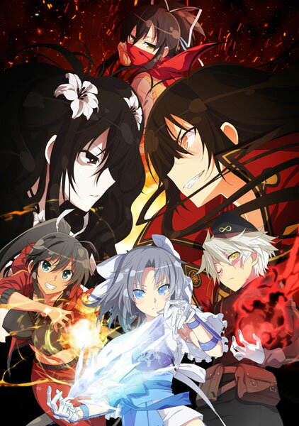DVD 閃乱カグラ SHINOVI MASTER -東京妖魔篇- Vol.1[KADOKAWA]《01月予約》