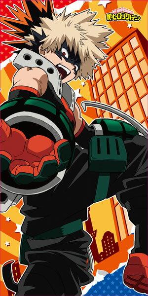 僕のヒーローアカデミア ビジュアルバスタオル2 (2)爆豪勝己[エンスカイ]《発売済・在庫品》
