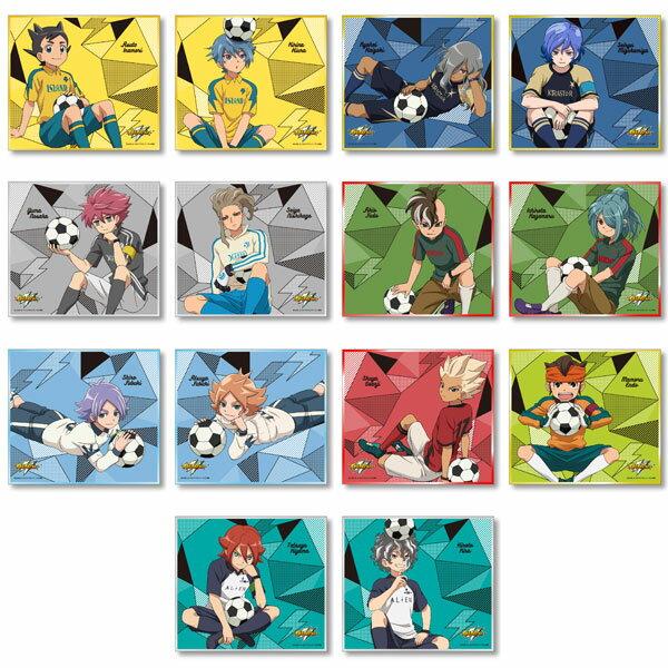 イナズマイレブン カラフル箔ミニ色紙コレクション 14個入りBOX[POMMOP]《発売済・在庫品》
