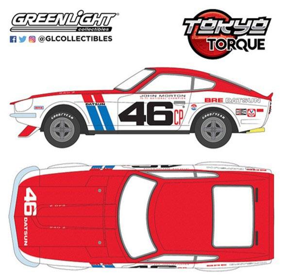 車, ミニカー・トイカー 143 Tokyo Torque - 1971 Datsun 240Z - 46 Brock Racing Enterprises (BRE) - John Morton11