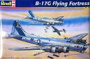 1/48 B-17G フライングフォートレス プラモデル(再販)[アメリカレベル]《04月仮予約》