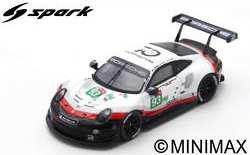 1/87 ポルシェ 911 RSR No.93 Porsche GT Team 24H Le Mans 2018 P. Pilet - N. Tandy - E. Bamber[スパーク]《08月仮予約》