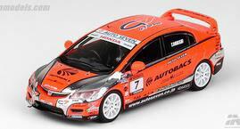 車, ミニカー・トイカー 164 Honda Type-R FD2 AUTOBACKS MUGEN POWER CUP 2012 7INNO Models