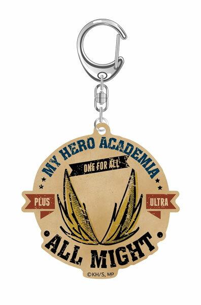 僕のヒーローアカデミア ヴィンテージシリーズ アクリルキーホルダー オールマイト[タカラトミーアーツ]《12月予約》