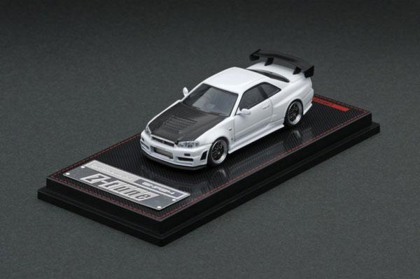 車, ミニカー・トイカー 164 Nismo R34 GT-R Z-tune White
