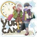 ゆるキャン△ 初雪キャンプ アクリル置時計[シーズナルプランツ]《発売済・在庫品》