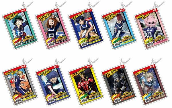 デコフレアクリルキーホルダー 僕のヒーローアカデミア ヒーローズバトルラッシュA 10個入りBOX[タカラトミーアーツ]《発売済・在庫品》