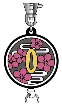 ラバーキーリール 鬼滅の刃 10 栗花落カナヲ[バンダイ]《発売済・在庫品》