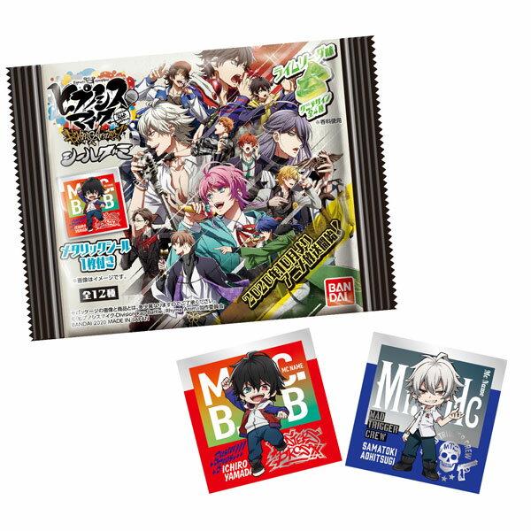 『ヒプノシスマイク-Division Rap Battle-』Rhyme Anima シールグミ 12個入りBOX (食玩)[バンダイ]《10月予約》