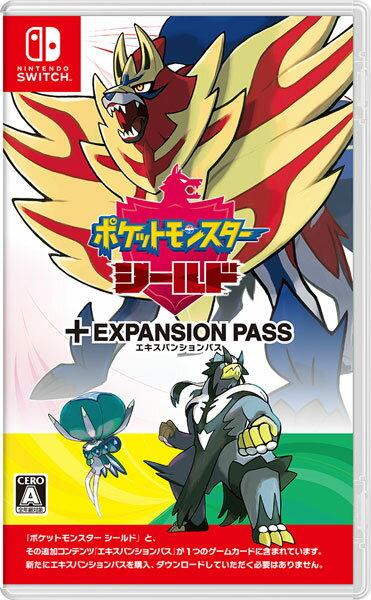 Nintendo Switch ポケットモンスター シールド + エキスパンションパス