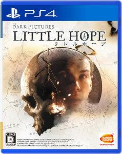 PS4 THE DARK PICTURES LITTLE HOPE(リトル・ホープ)[バンダイナムコ]《12月予約》